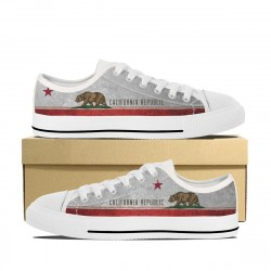California Flag Low Tops