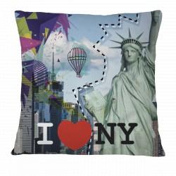 Love New York Pillow Case