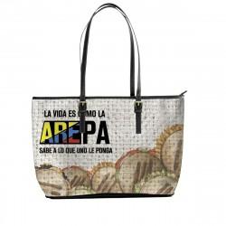 """""""La vida es como la AREPA"""" Tote Bag"""