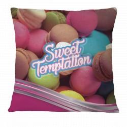 Sweet Temptation Macarons Pillow Case