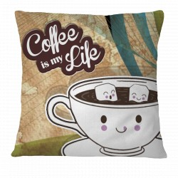 Coffee is my Life Pillow Case