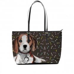 Love Beagle Tote Bag