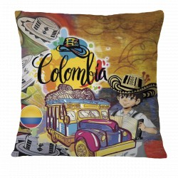 Love Colombia Pillow Case