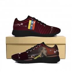 Vinotinto FVF Sneakers (Black Sole)