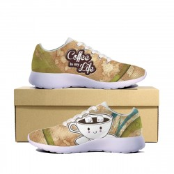 Coffee is my Life Sneakers