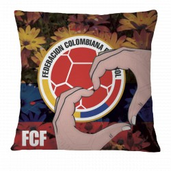 Love FCF Colombian Football Pillow Case