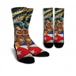 Love Cuba Socks (Female Character)