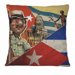 Love Cuba Pillow Case (Male Character)
