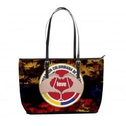 Love FCF Colombian Football Tote Bag