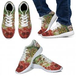 Viva Mexico White Sneakers