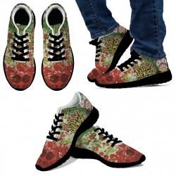 Viva Mexico Black Sneakers