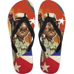 Love Cuba Flip Flops (Male Character)