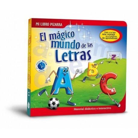 Libro Pizarra el Mágico Mundo de Las Letras