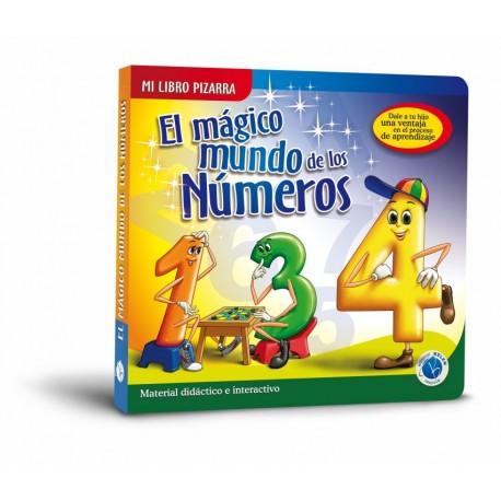 Libro Pizarra el Mágico Mundo de Los Números