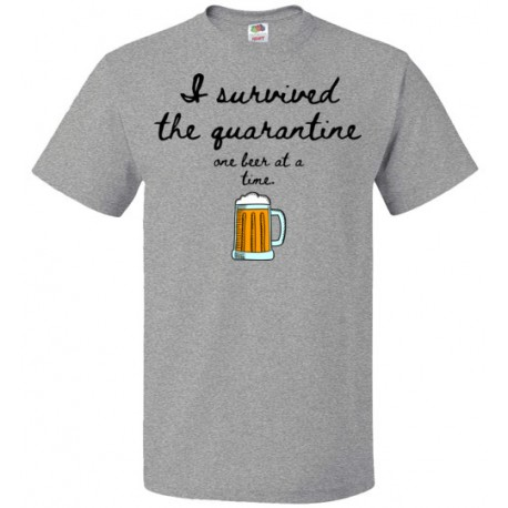 Remote Drinking Beer Tee