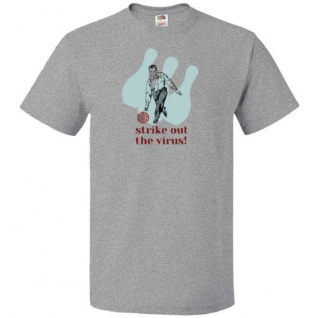 Strike out the virus! Fight Covid Tee