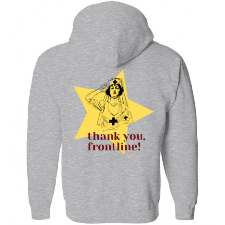 Thank you frontline! Fight Covid Hoodie