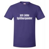 Ich Liebe Spatburgunder Unisex T-Shirt
