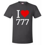I Love 777 Unisex T-Shirt