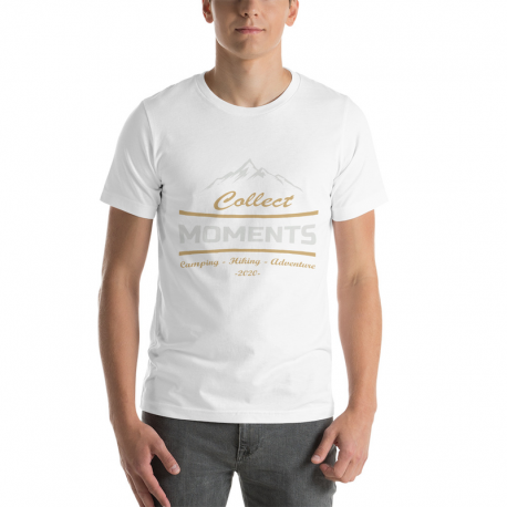 Collect moments - Camping, Hiking -Short-Sleeve Unisex T-Shirt