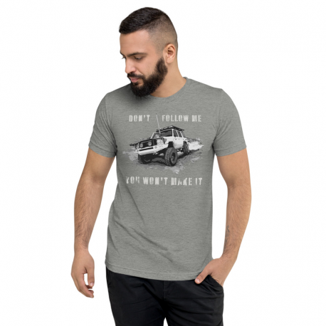 Do not follow me - 4x4 - Offroad T-shirt
