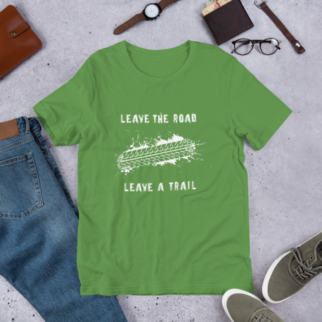 Leave the road - 4x4 T-Shirt