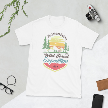 Wild Forest Expedition - Short-Sleeve Unisex T-Shirt