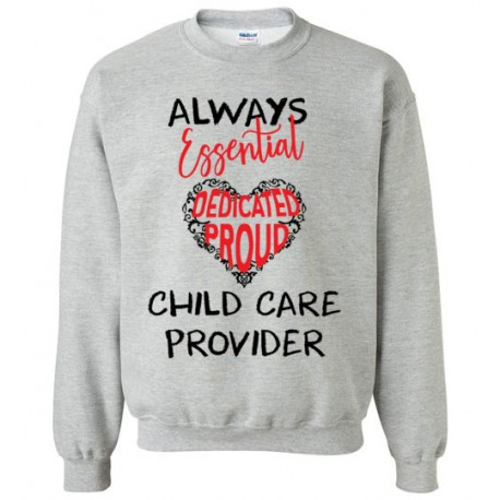 Words in Red Heart Black font Sweatshirt