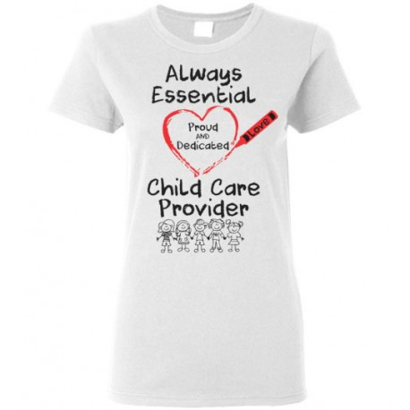 Crayon Heart With Kids Big Black Font Women's T-shirt