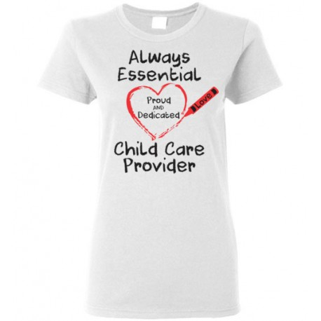 Crayon Heart Big Black Font Women's T-shirt