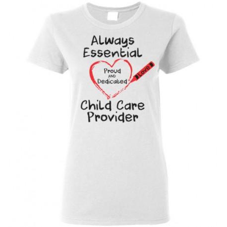 Crayon Heart Big Black Font Women's T-shirt