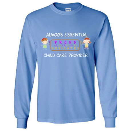 Banner White Font Long-Sleeved Shirt