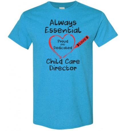 Crayon Heart Big Black Font Director Men's T-Shirt