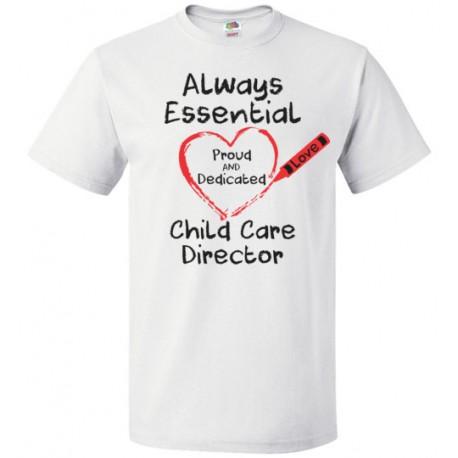 Crayon Heart Big Black Font Director Unisex T-Shirt