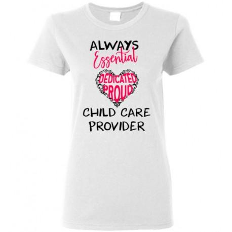 Words in Pink Heart Black font Women's T-Shirt