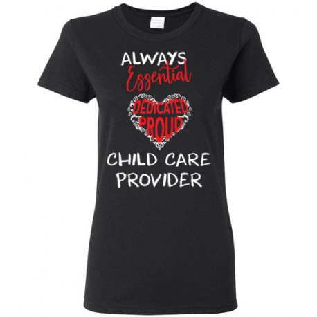 Words in Red Heart White font Women's T-Shirt