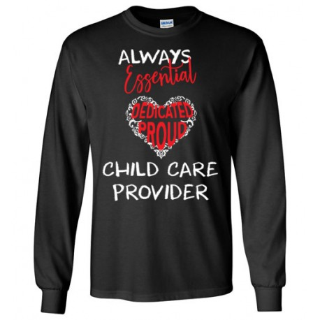 Words In Red Heart White font Long-sleeved shirt