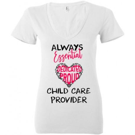 Words in Pink Heart Black font Women's Deep V-neck T-Shirt