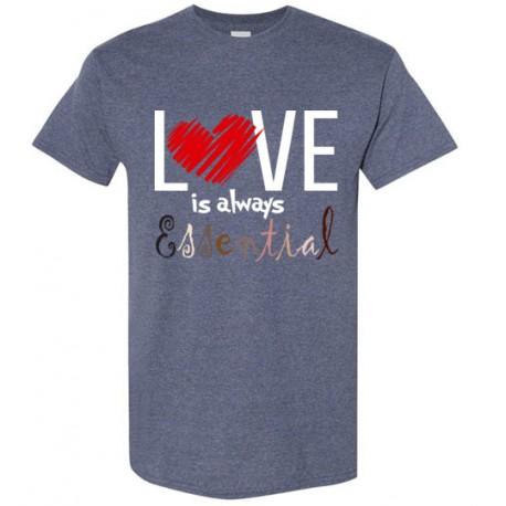 Scribble Heart Essential Men's T-Shirt