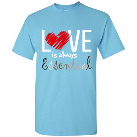 Scribble Heart Essential Men's T-Shirt