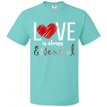 Scribble Heart Essential Unisex T-Shirt