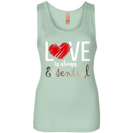 Scribble Heart Essential Women's Tank