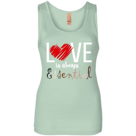 Scribble Heart Essential Women's Tank