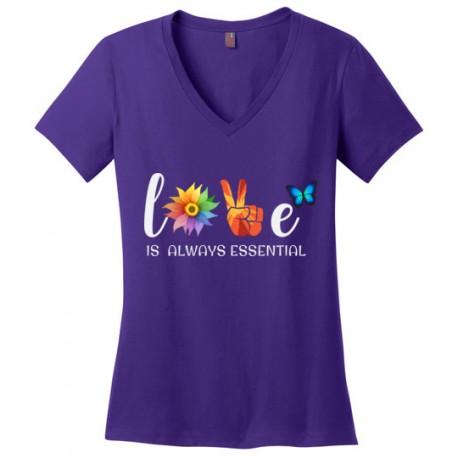 Butterfly Essential Women's V-Neck T-Shirt