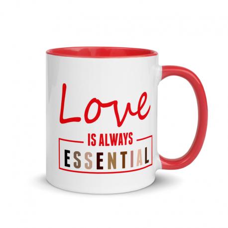 Box Essential Mug with Color Inside