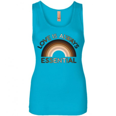 Love is Always Essential Skin-Tone Rainbow Women's Tank