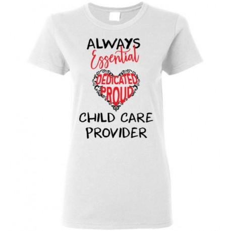 Words in Red Heart Black font Women's T-Shirt