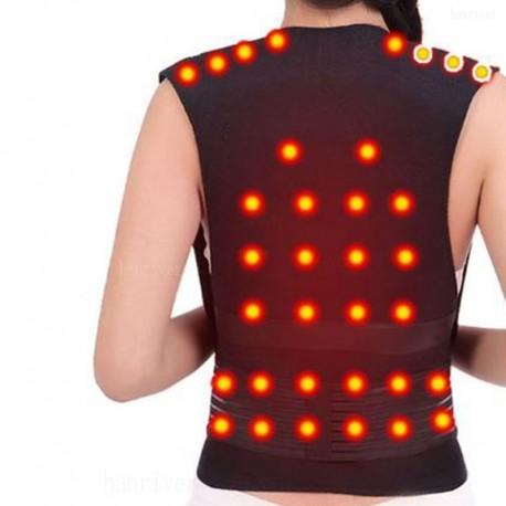 Self-heating Magnetic Back Support Belt Posture Corrector