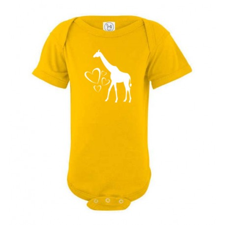 Giraffe Hearts - Short Sleeve