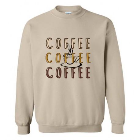 Coffee x3 - Sweatshirt